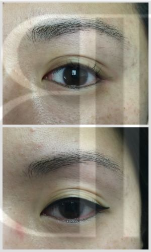 Natural Eyeliner with wing