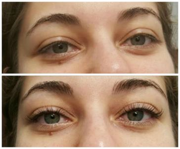 Eyelash Perms Lift and Curl the lashes to create a beautiful long lasting luscious look!